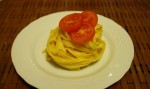 yellow pepper pasta 1